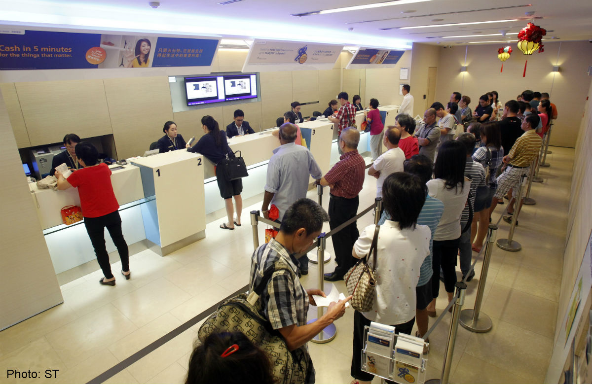 Posb Moves To Cut Queues Singapore News Asiaone
