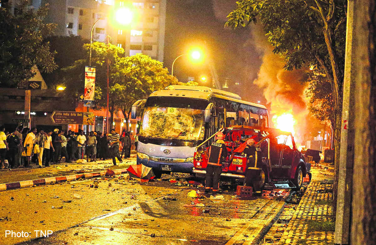 causes of the little india riots Critics have thrown scorn at the little india riot coi report some said the coi gave the home team only a slap on the wrist – citing the fact that the home team was too busy standing their.