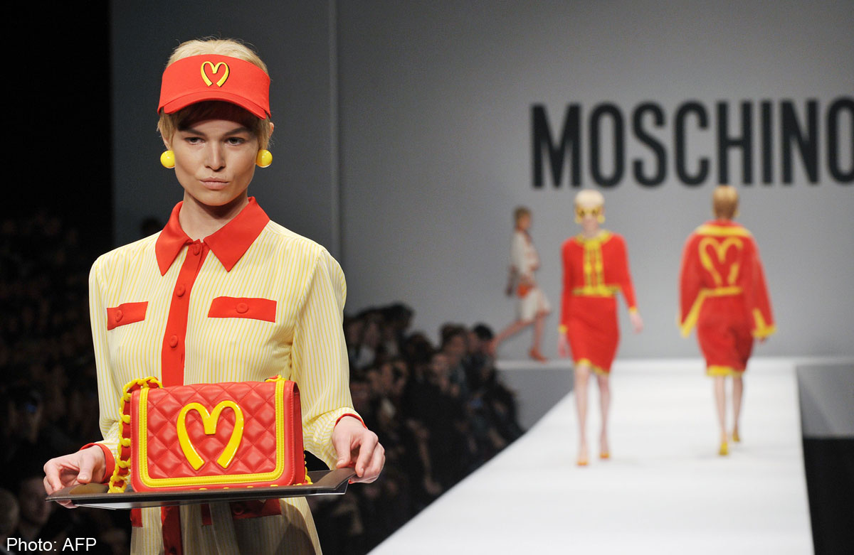 ec3fbc14ca2 Moschino capsule collection hot off the runway, Entertainment News ...