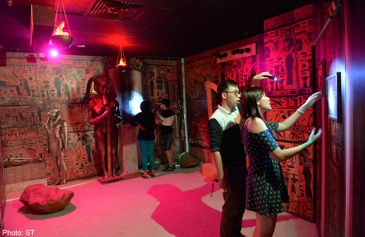 Technology Gives Lost Sg Escape Rooms An Edge Over Others