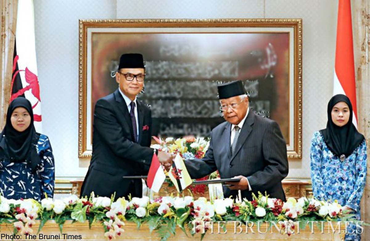Indonesia, Brunei sign MoUs on health, trade, Asia News