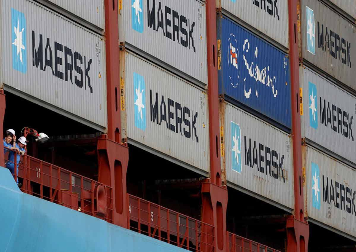 Shipping giant Maersk reports US$2 7 billion net loss in