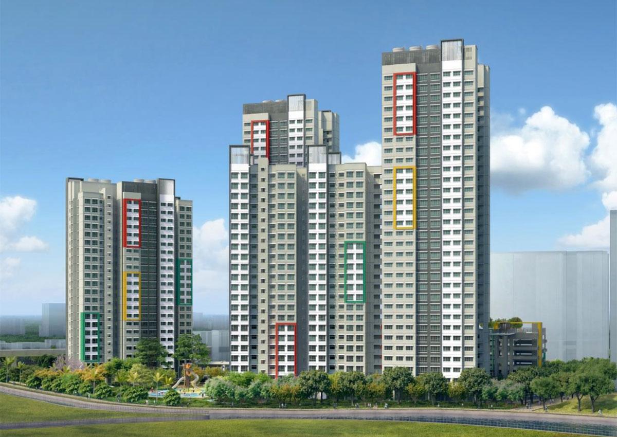 Hdb launches bto flats in choa chu kang woodlands