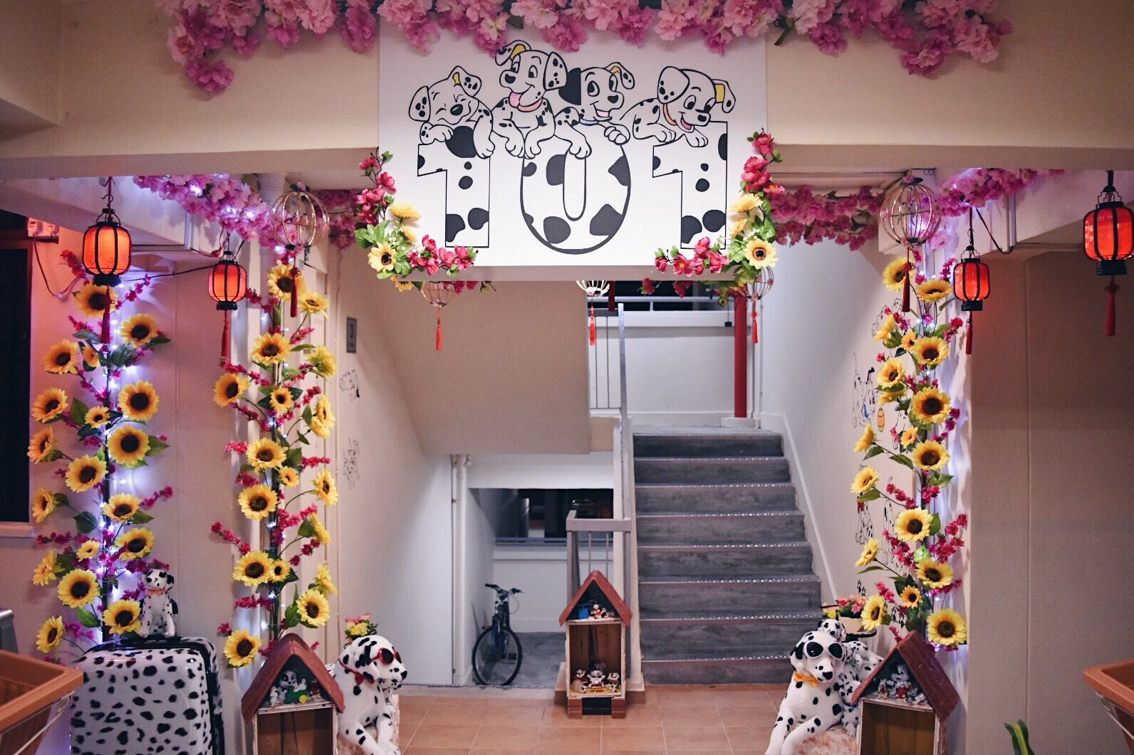Bedok resident spends decorating hdb home and corridor to