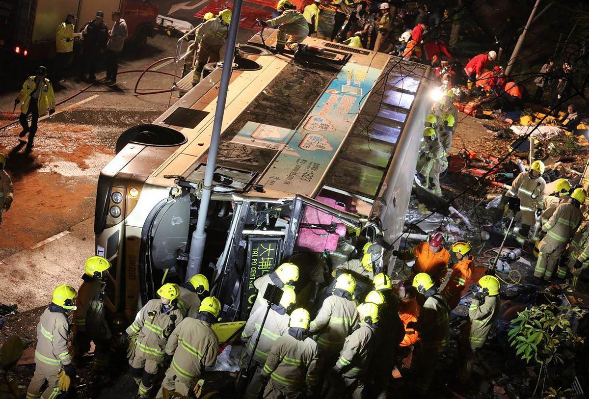 Hong Kong accident takes 18 lives
