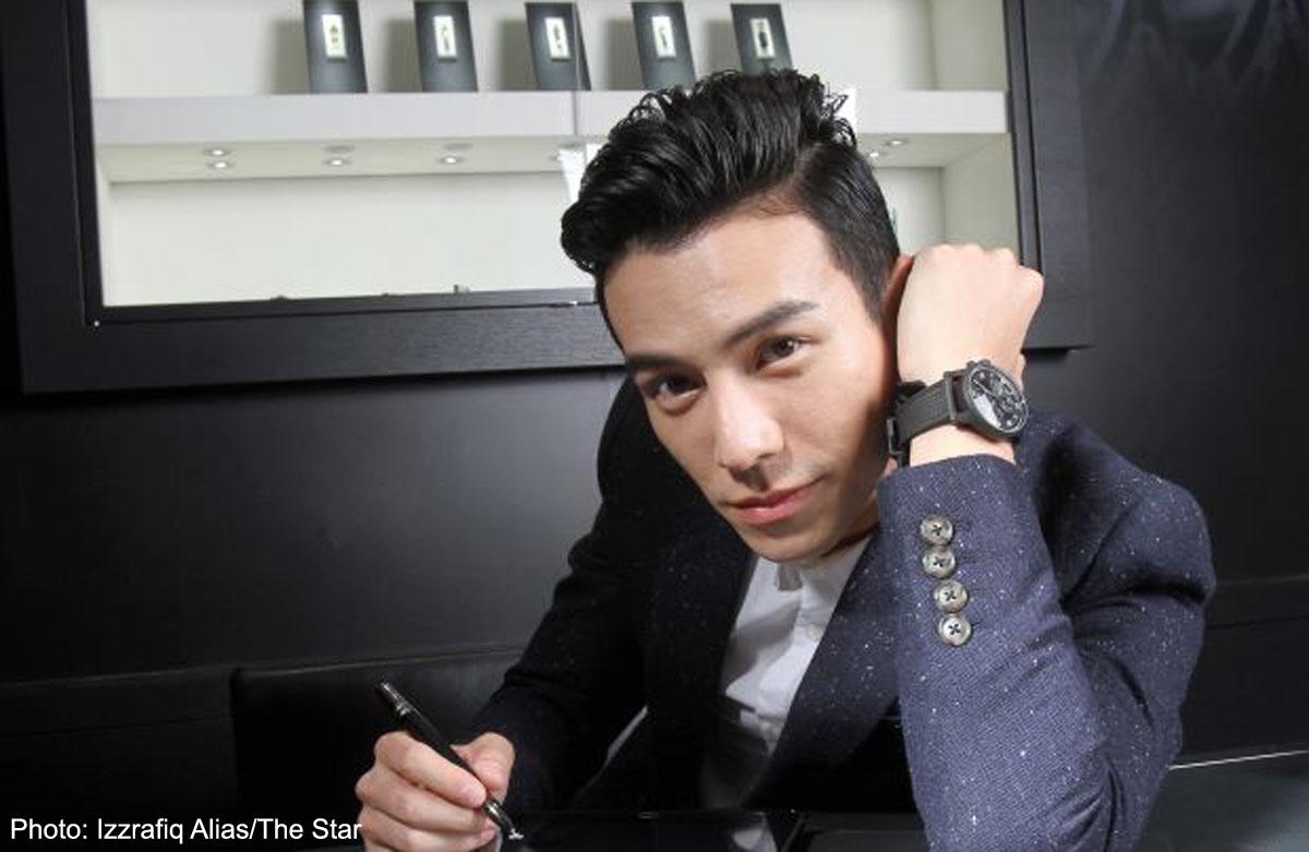 Model-actor-singer Lawrence Wong on being versatile for