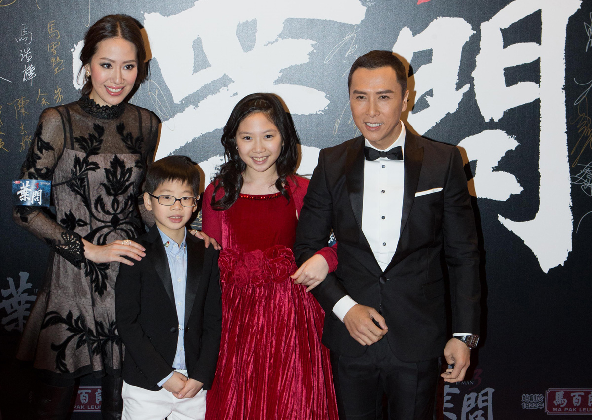 I'm finally a 'cool dad' after Star Wars role, Donnie Yen