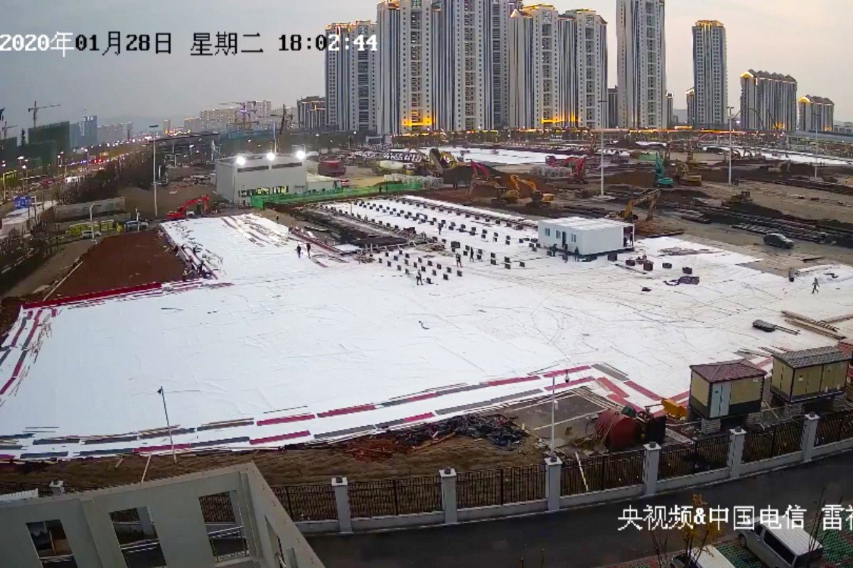 Live from Wuhan: Millions tune in to watch China build