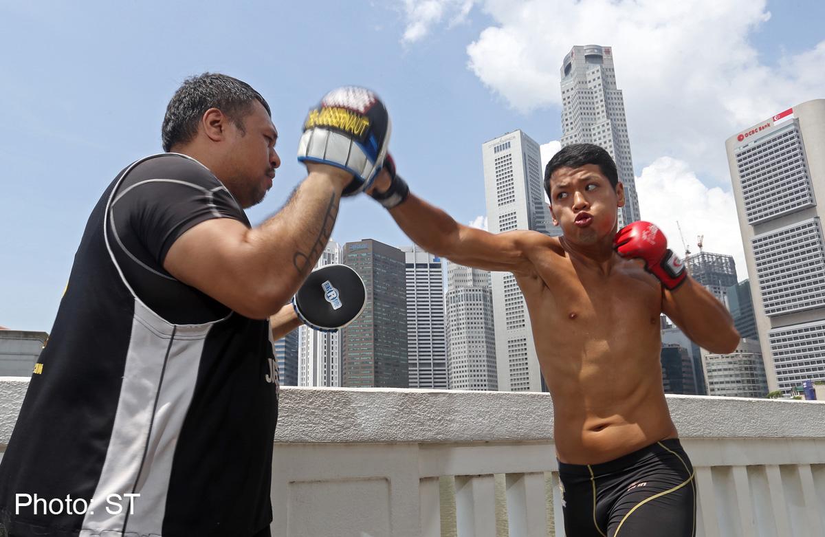 Mixed martial arts: Religion toughens resolve, News - AsiaOne