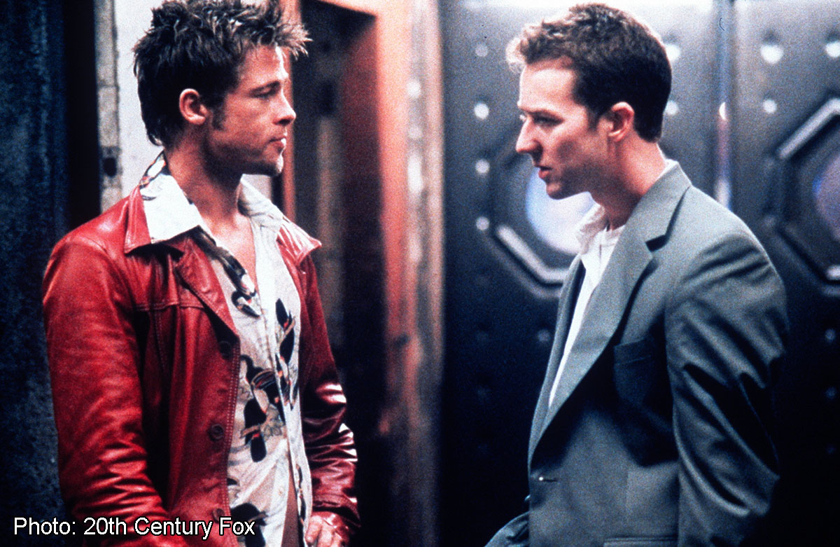 """an analysis of fight club a movie based on a novel by chuck palahniuk Acclaimed author chuck palahniuk discusses his first comic,  comic book  sequel to the iconoclastic novel """"fight club"""" was conceived at a dinner  his  conflicted feelings about david fincher's """"fight club"""" film adaptation, his."""