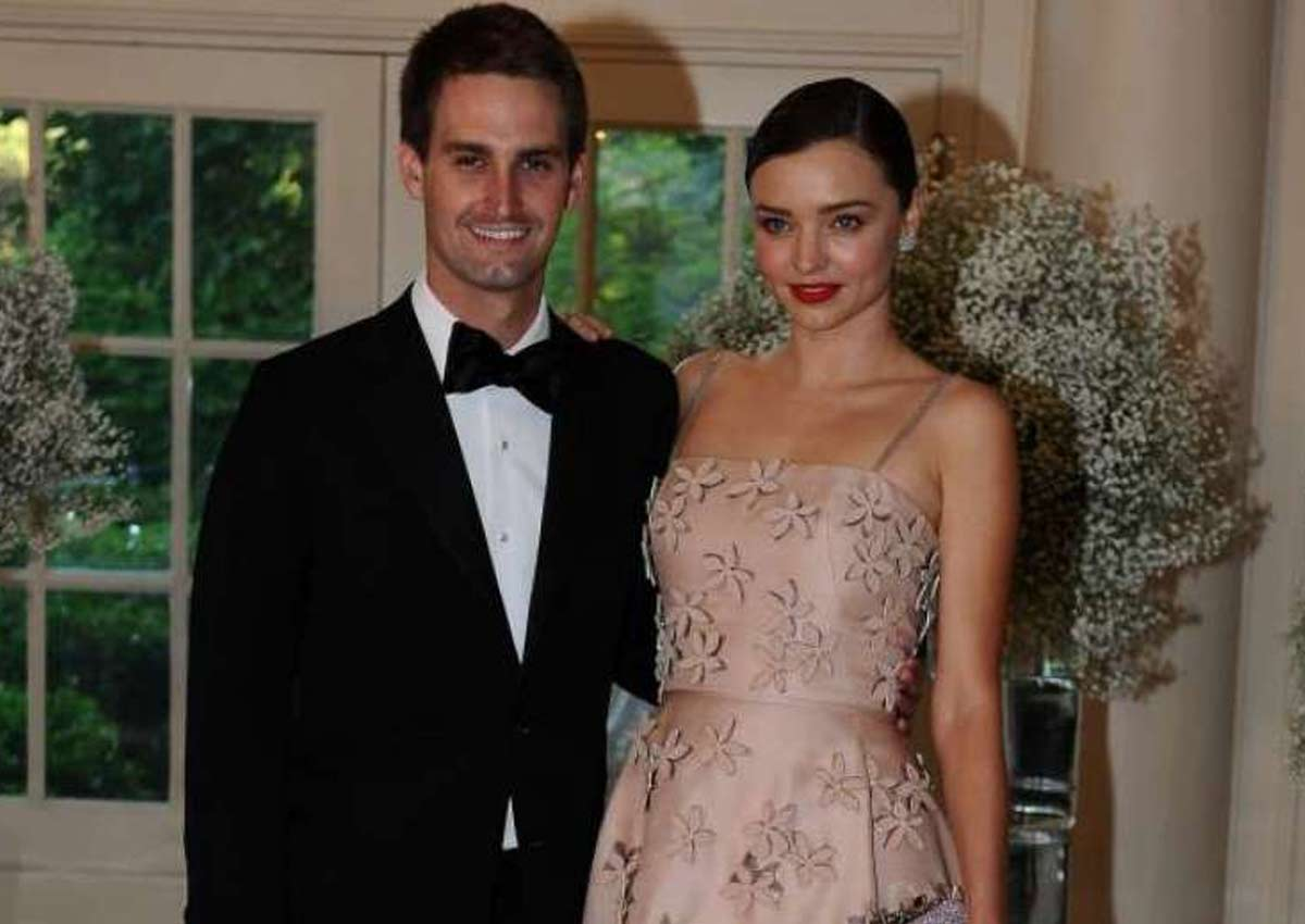 Model Miranda Kerr set to marry Snapchat founder Evan
