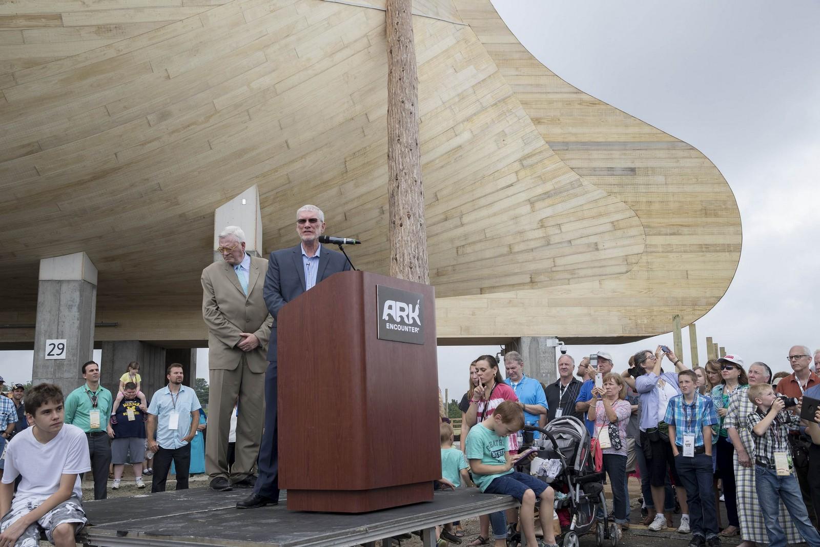 noah u0027s ark replica built to exact dimensions in bible opens amidst