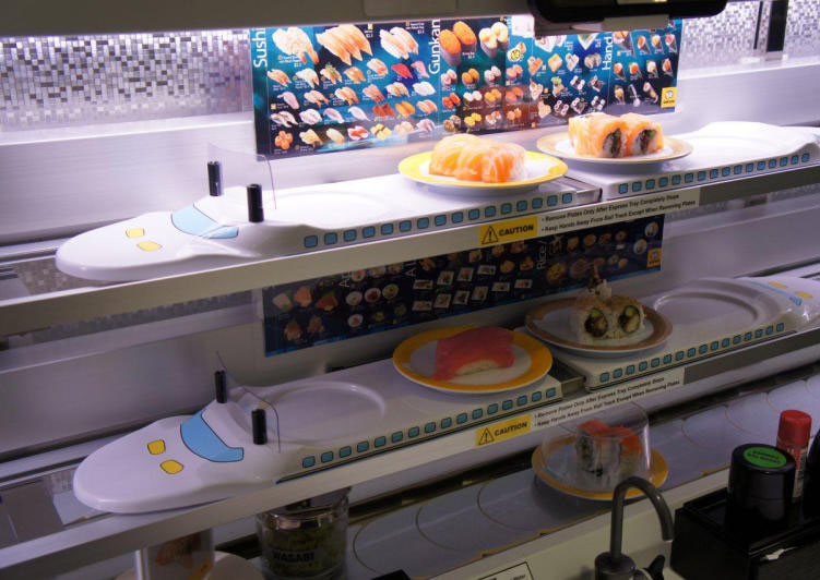 Hong Kong's automated-sushi restaurant: An attempt to not interact with any humans, Food News - AsiaOne