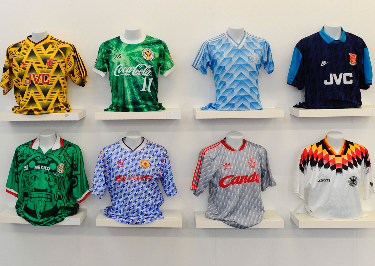 43c51d290 Football shirts reappraised as design classics, World News - AsiaOne