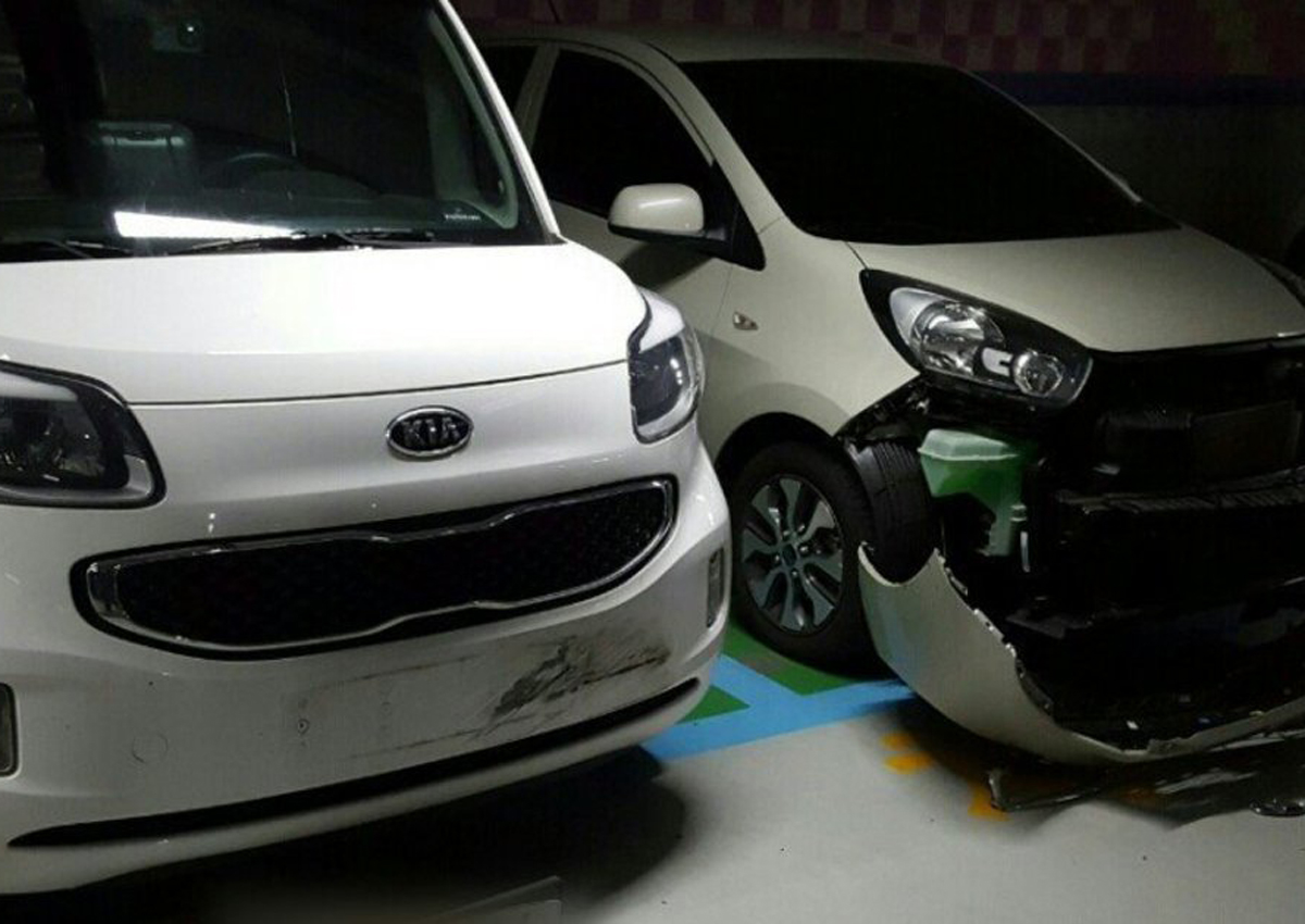 9 Year Old Boy In Korea Drives Mother S Car Rams Into 10 Vehicles