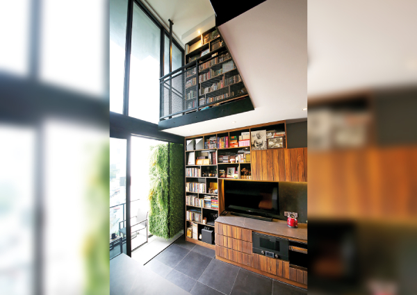 House Tour: An inviting loft-style apartment with customised ...