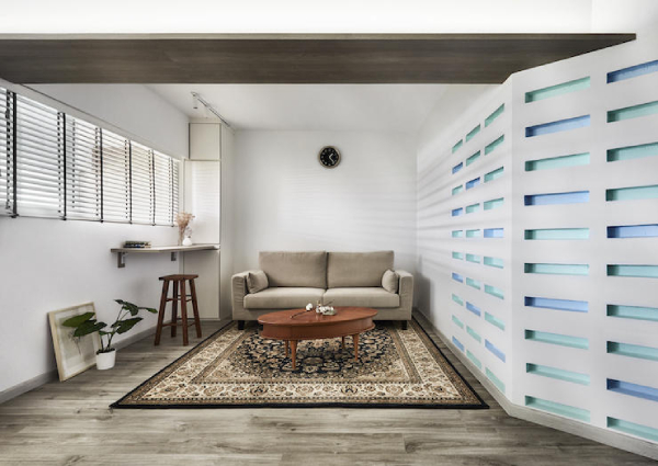 Pleasing House Tour A Blue And White Three Room Hdb Home In Chai Home Interior And Landscaping Synyenasavecom