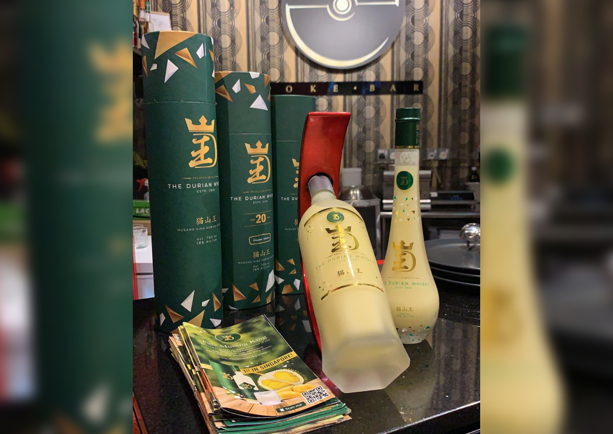 Viral durian whiskey is Malaysia-made, and not actually whiskey at