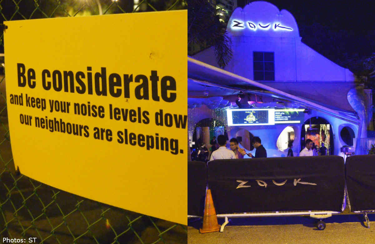 Zouk's neighbours say noise, trash a 'nuisance', Singapore