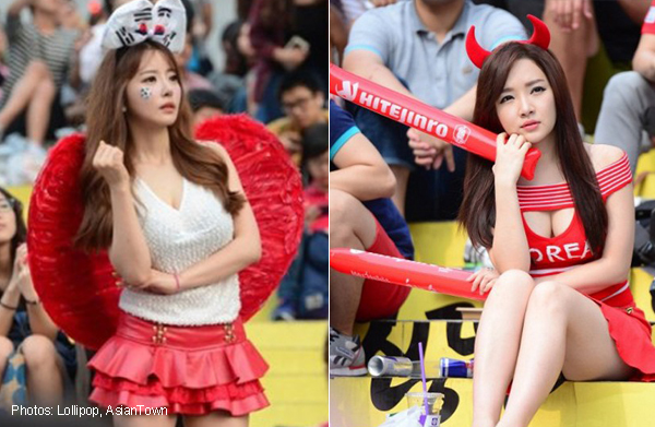 Beautiful South Korean World Cup Fans Steal Hearts Of Netizens Asia News Asiaone
