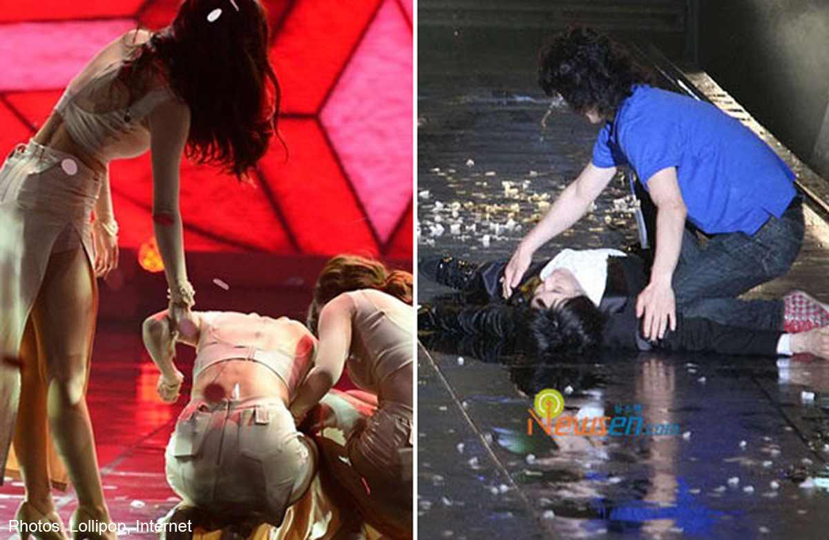 Shocking Times K Pop Idols Have Collapsed And Fainted On Stage Entertainment News Asiaone