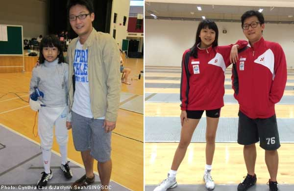 SEA Games: Growing together in Singapore's fencing sabre