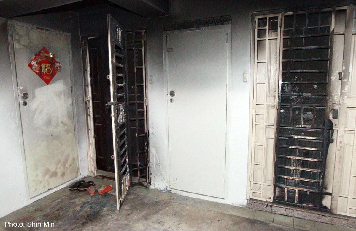 Two Jurong East flats set on fire, Singapore, Singapore News - AsiaOne