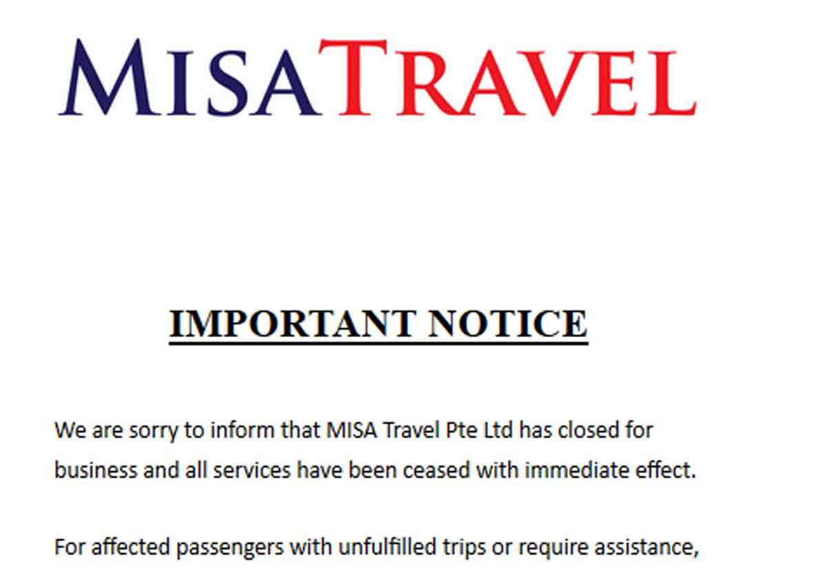 MISA Travel shuts down after losing travel agent licence, Business
