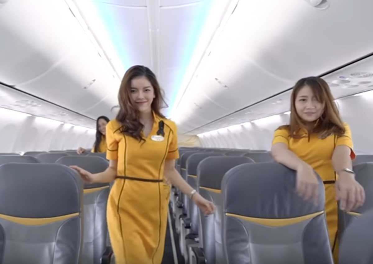 Oops They Did It Again Nok Air Stewardesses Cover