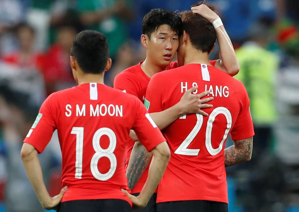 sale retailer 21606 a73a0 World Cup: 'Korea hasn't scored a goal, Son Heung-min has ...