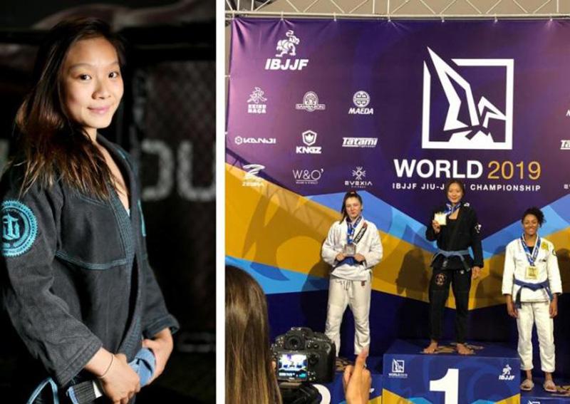 19-year-old Singaporean wins ju-jitsu world title, Singapore