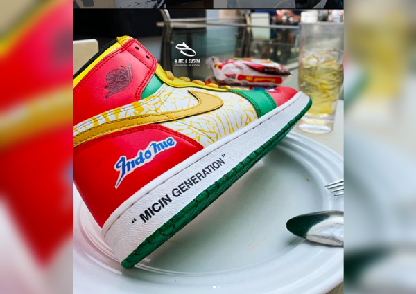 nouveau produit 17e0e 1a8e9 Indomie-inspired Air Jordans sold out in two days, Lifestyle ...