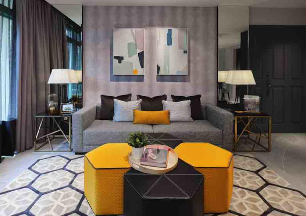 House tour: A contemporary-style three-bedroom condominium ...