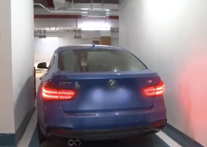 Chinese woman pays $40,000 for premium parking lot but can