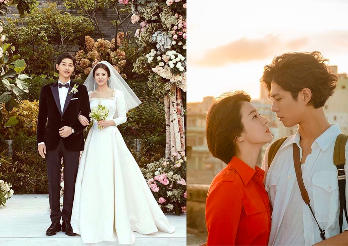 Hyun Bin Song Hye Kyo Wedding