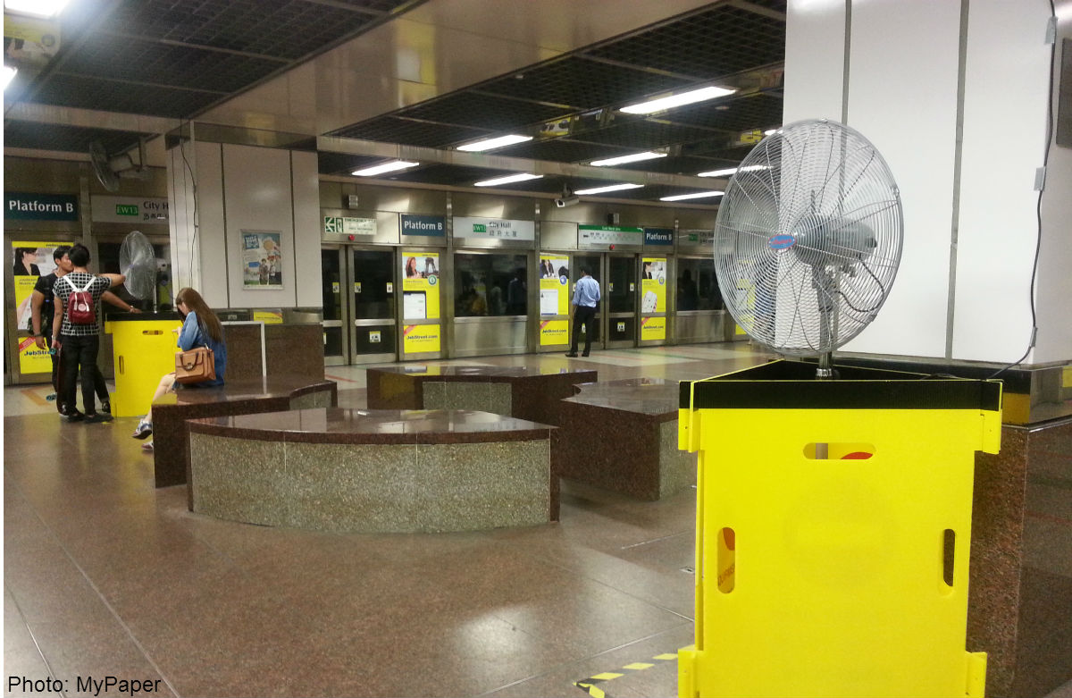 The Heat Is On At City Hall Mrt Station News Asiaone