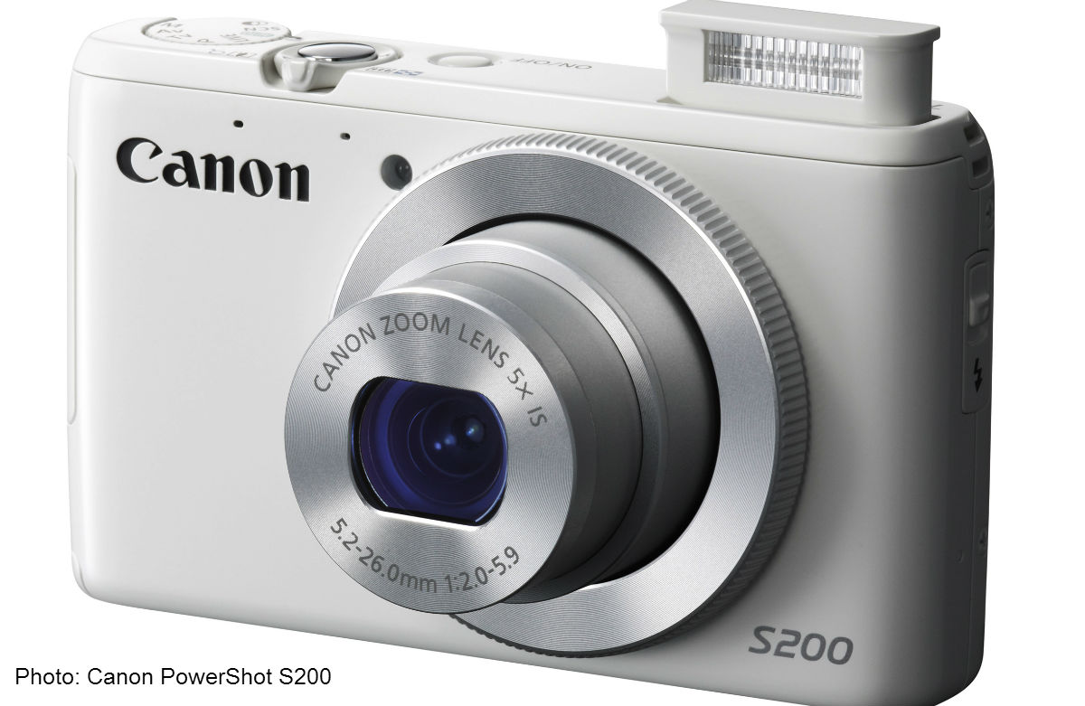 Review: Canon PowerShot S200