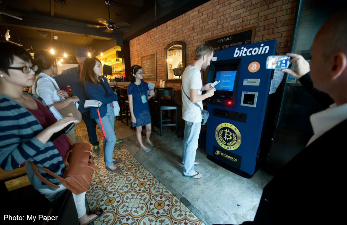 bitcoin atm singapore)