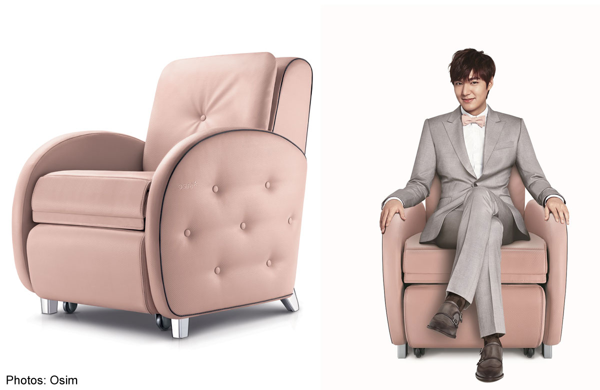 chair massage image osim product australia views key ulove more pink au