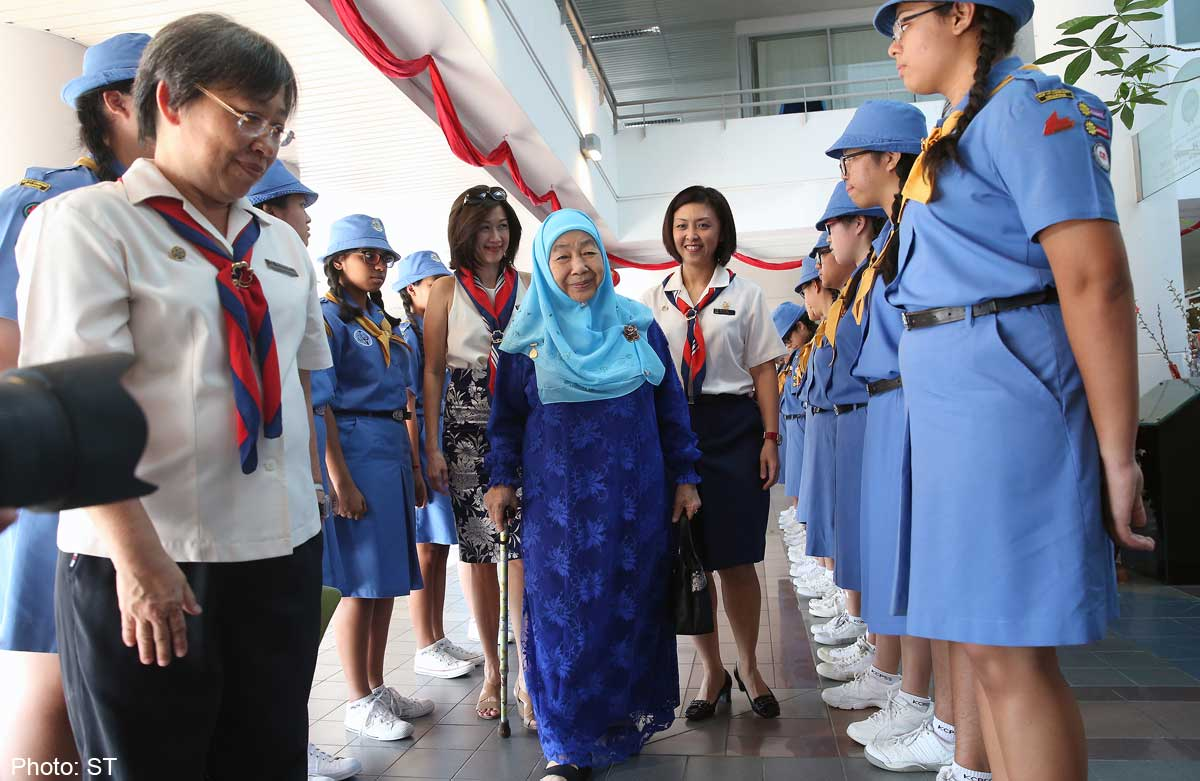 Two Former First Ladies Attend Girl Guides Event
