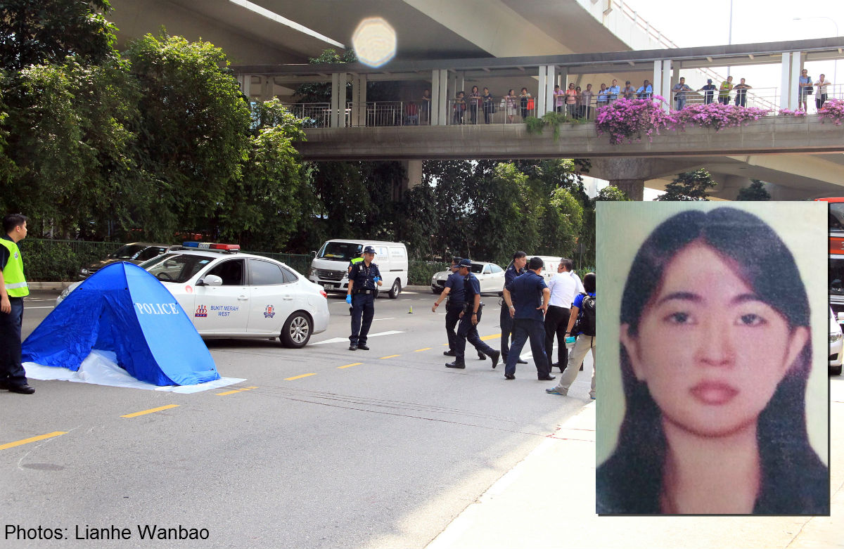 Vietnamese woman believed to have jumped off Singapore