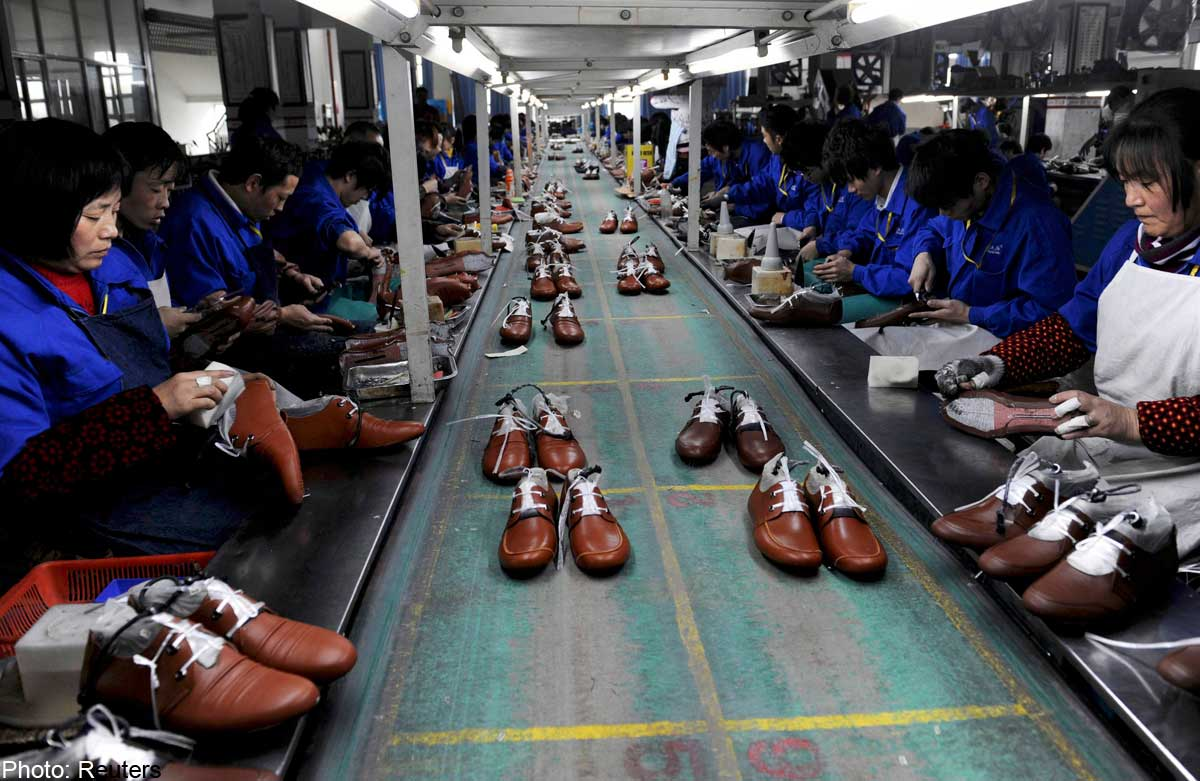 Nike Shoe Factory China