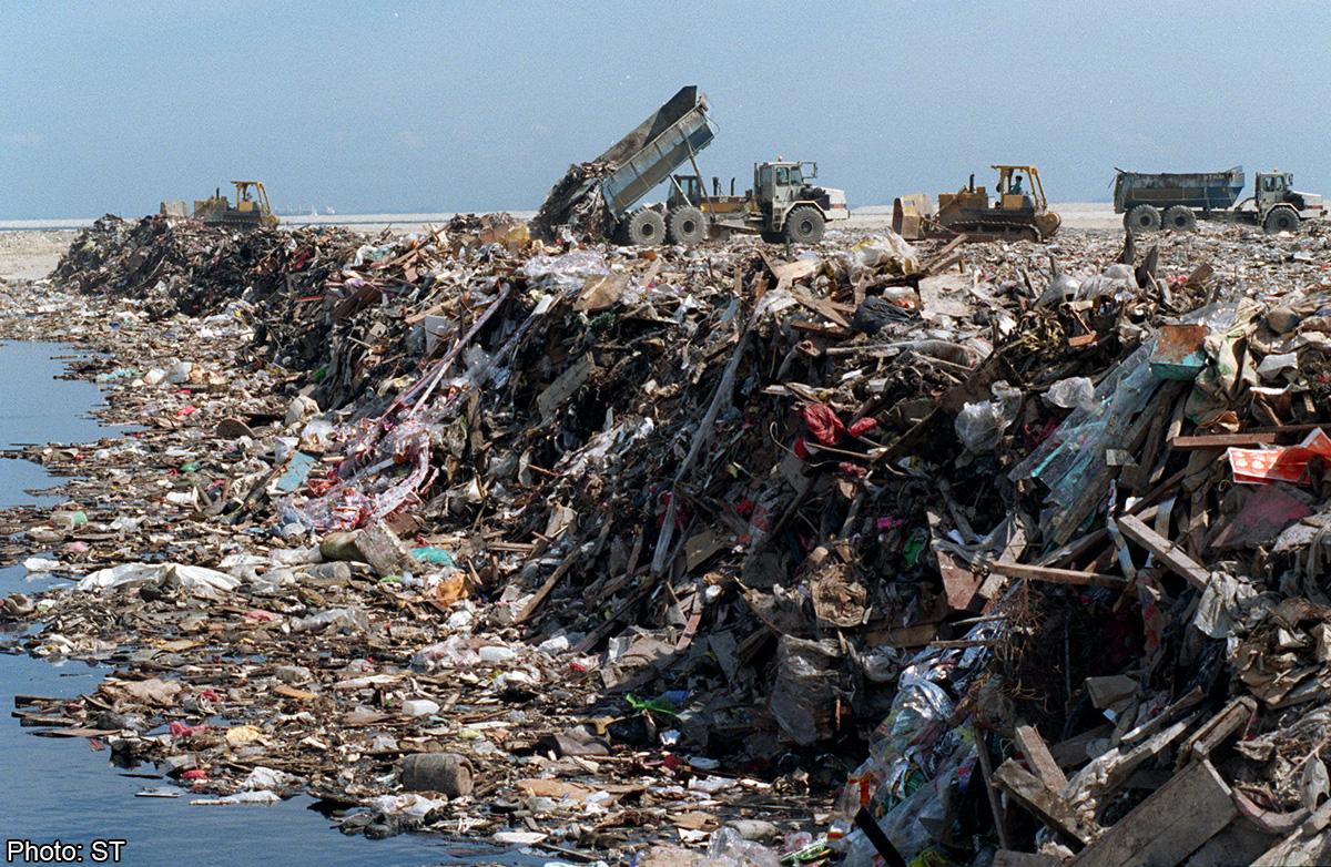 Using Ash From Burnt Trash To Reclaim Land Singapore News