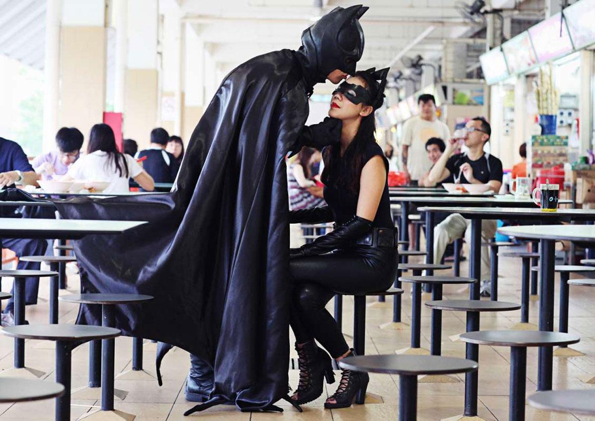 Batman Wedding Dress - Wedding Photography