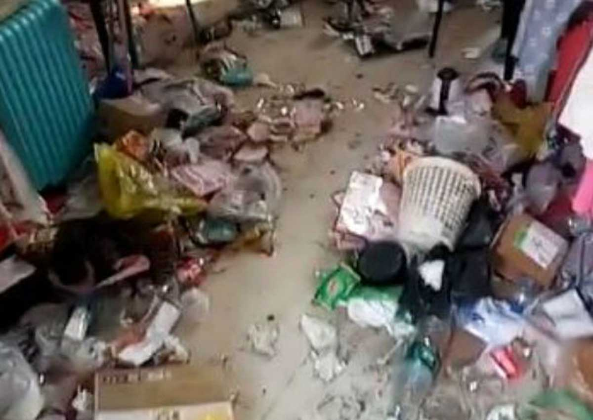 Dirty Dorm Room In China Shocks Online Users Asia News