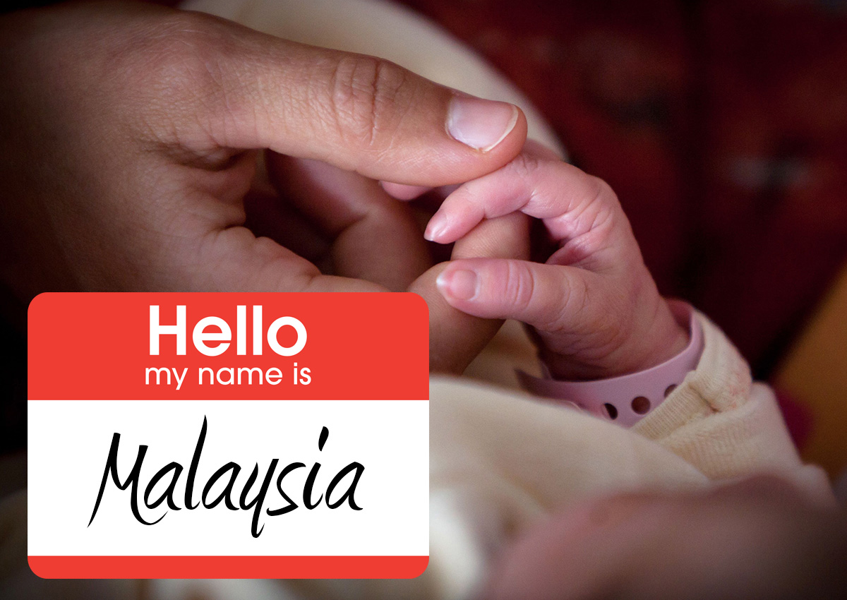 Malaysia' getting popular as baby girl name in US, Malaysia