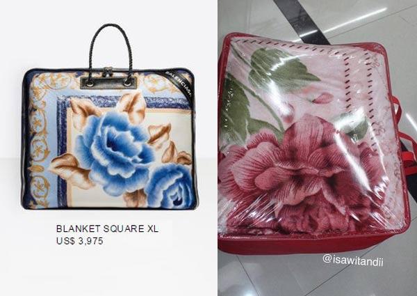 Balenciaga S Done It Again Now A 5 000 Blanket Bag