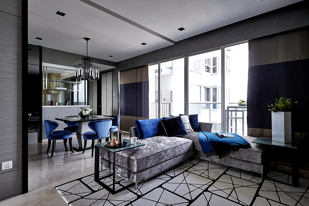 Hotel-inspired 3-bedroom condo apartment is couple's first ...