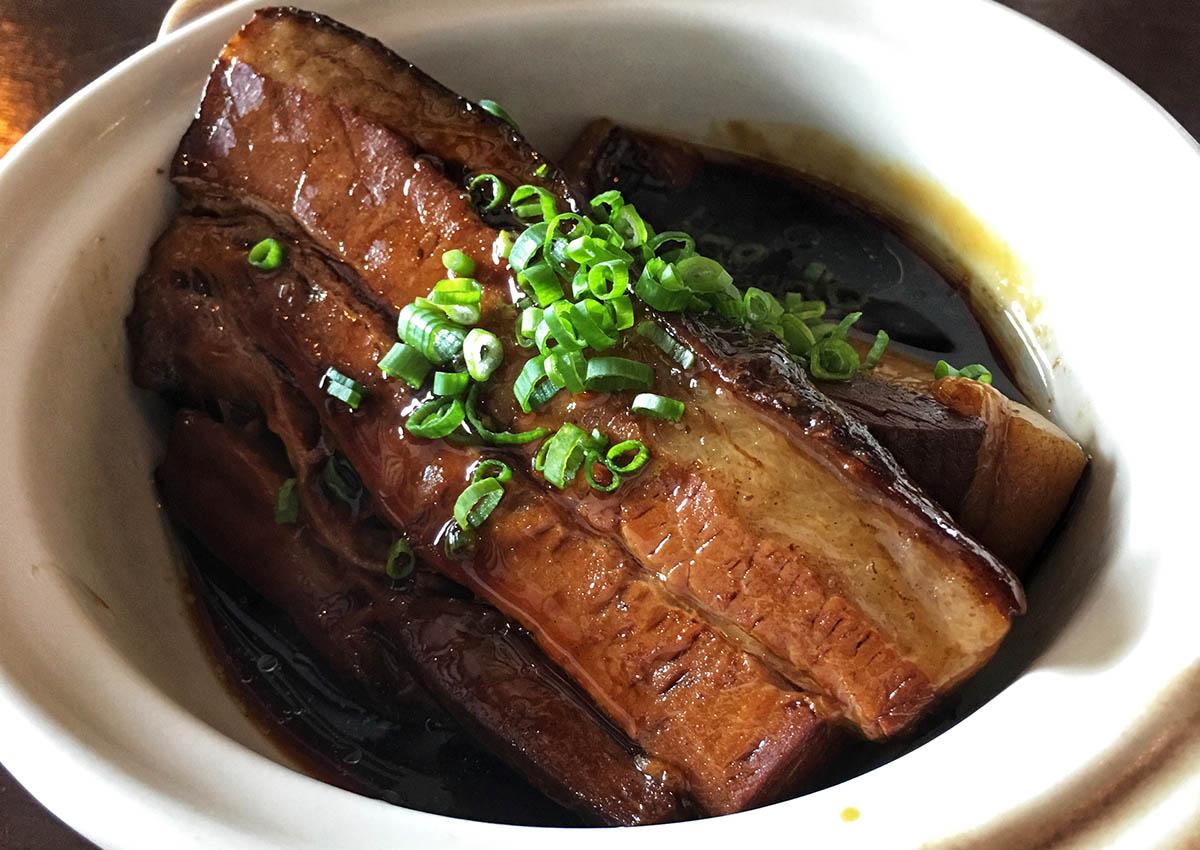 List All Foods Containing Pork