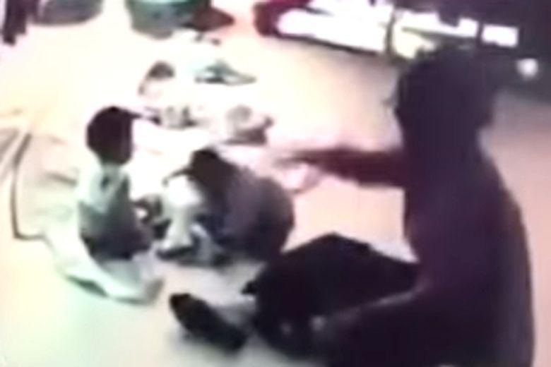 Taiwan to revoke licence of nanny caught slapping baby
